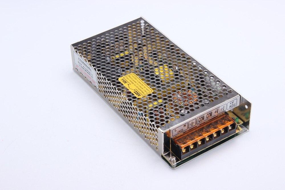 120W 5V 24A switching power supply 5v led driver 110V/ 220v to 5v converter smps for amplifier ac dc transformer (s-120-5) ac 85v 265v to 20 38v 600ma power supply driver adapter for led light lamp