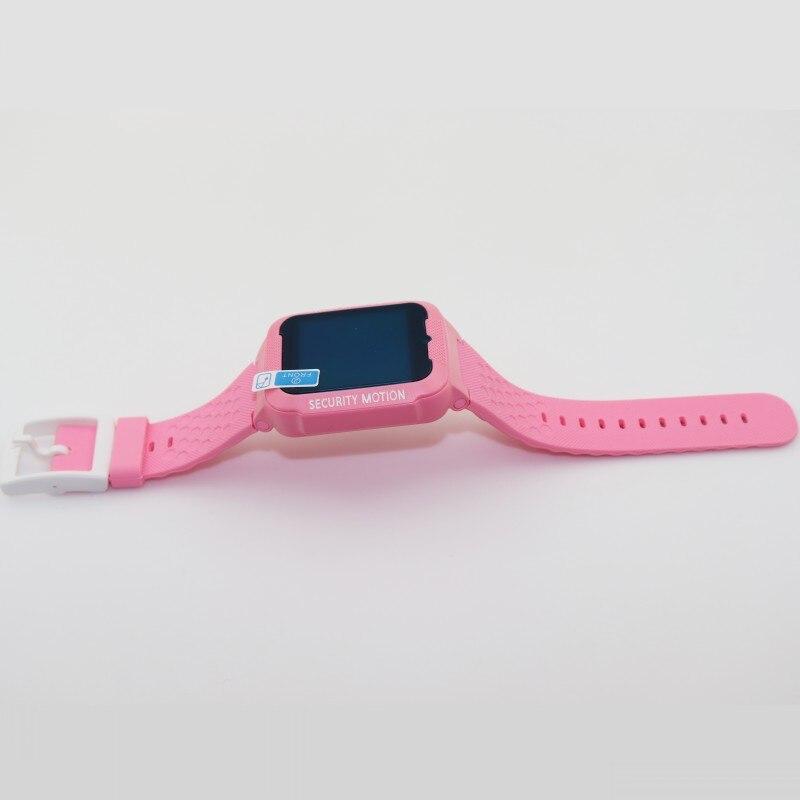 GPS tracker montre enfants Bluetooth caméra enfants étanche 2.5D écran tactile sûr bébé SOS Location montres intelligentes K3 D - 4