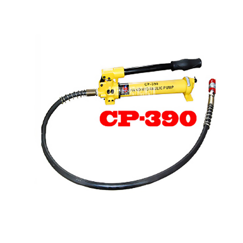 Recommend ! CP 390 Manual Hydraulic Pump Good Quality Portable High Pressure Hand Hydraulic Pump Station 450cc 70MPa Hot Selling