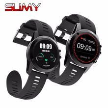 "Slimy H1 Smart Watch Android 4.4 IP68 Waterproof 1.39"" MTK6572 BT 4.0 3G Wifi GPS Smartwatch Men For IPhone Wearable Devices(China)"