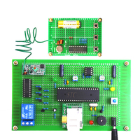 GSM Electric car Burglar alarm design Alarm System DIY Kit Electronic production Training