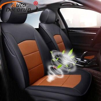 AutoDecorun Genuine Leather Car Seat Covers Sets for Lexus GS350 GS300 GS250 GS450h GS300h GS200t GS460 Seat Cover Accessories