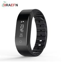 Hraefn Умный Браслет Bluetooth smartband СЭМ Heart Rate Monitor Сна Активность фитнес-Трекер OLED Умный Браслет для iOS Android
