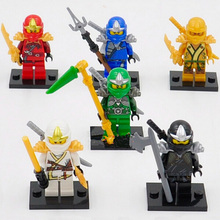 цена на 2016 New 8pcs Star Wars Minifig Building Blocks Set StarWars Clone Figures Compatible with Lepine Star Wars