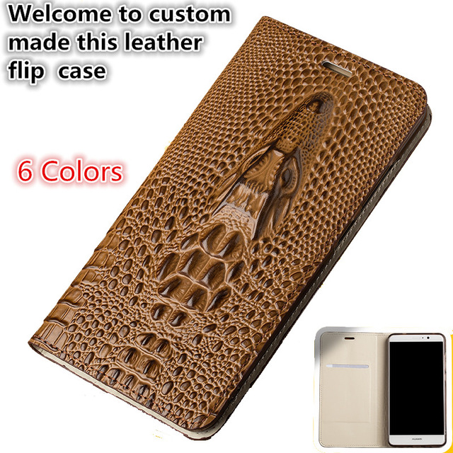 LS15 Natural Leather Flip Case With Card Slot For font b OnePlus b font font b