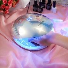 Eichenmoos 36W Rainbow5 Professionelle LED UV Nagel Lampe Führte Nagel Licht Nagel Trockner UV Lampe Schiff von Estland Lager