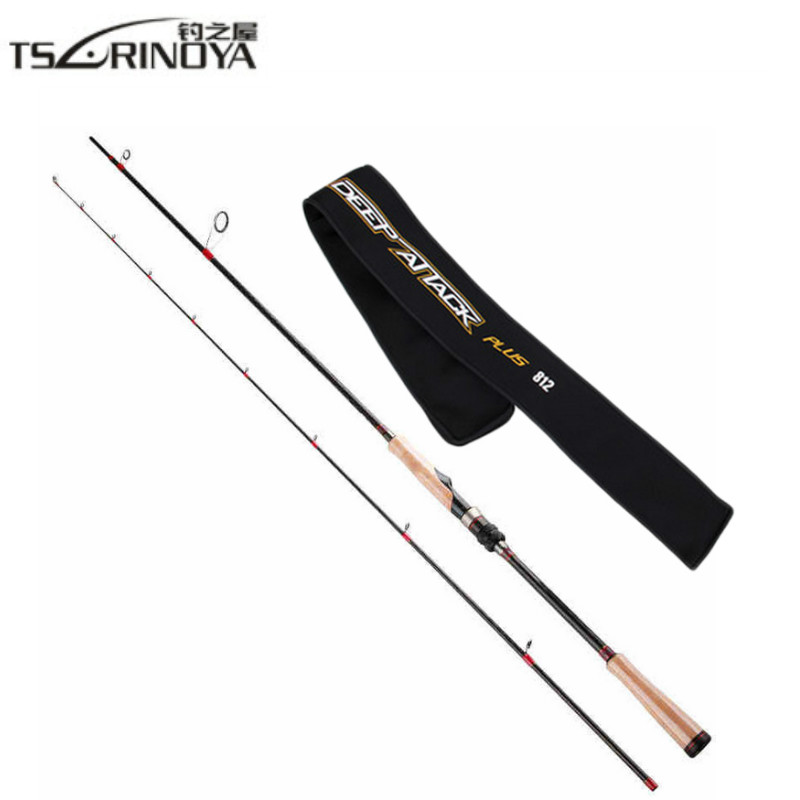 TSURINOYA Fishing Spinning Rod 2.47m 2 Section Carbon Spinning Fishing Rod FUJI Accessories Fishing Pole Carp Fishing Tackle top 2 74m brave spinning fishing rod fuji guides 98