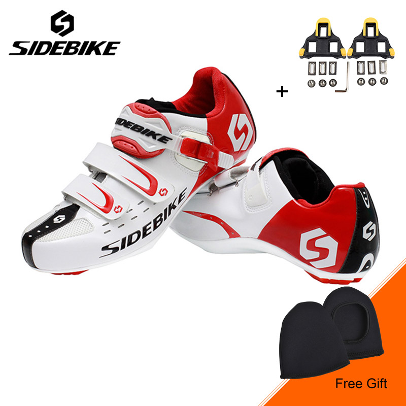 Sidebike Outdoor Road Bike Cycling Shoes Superlight Auto-lock Bicycle Shoes Non-slip Highway Bike Shoes Sapatos de ciclismo santic new design cycling shoes men outdoor road bike shoes self locking shoes non slip bicycle shoes sapatos with 3 colors