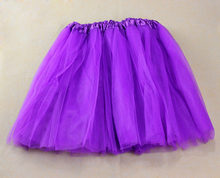 2019 New 1PC Pretty Girl Elastic Stretchy Tulle Adult Tutu 3 Layer Skirt Hot Sale Falda Pantalon Mujer#BZ(China)
