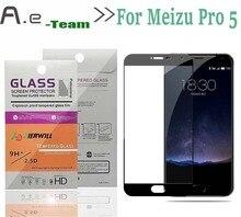 Aierwill-Полный 2.5D Закаленное Стекло Для Meizu Pro 5 Смартфон + 9 H Anti-explosion Полное Покрытие Экрана Протектор Фильм для Meizu Pro5