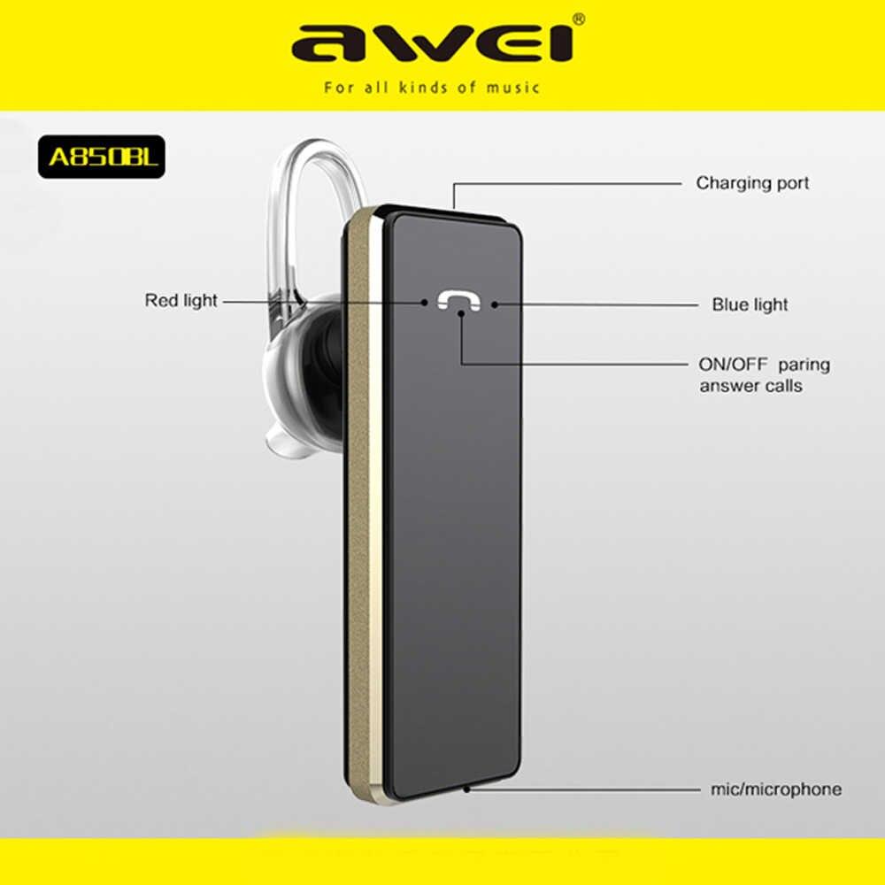 Awei Handsfree Blutooth наушник Auriculares мини bluetooth-гарнитура наушники для ваших наушников беспроводные наушники