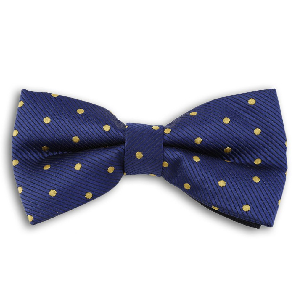 British Fashion Adjustable Male Bow Tie Formal Suit Collar For Business&Wedding With Small Spots