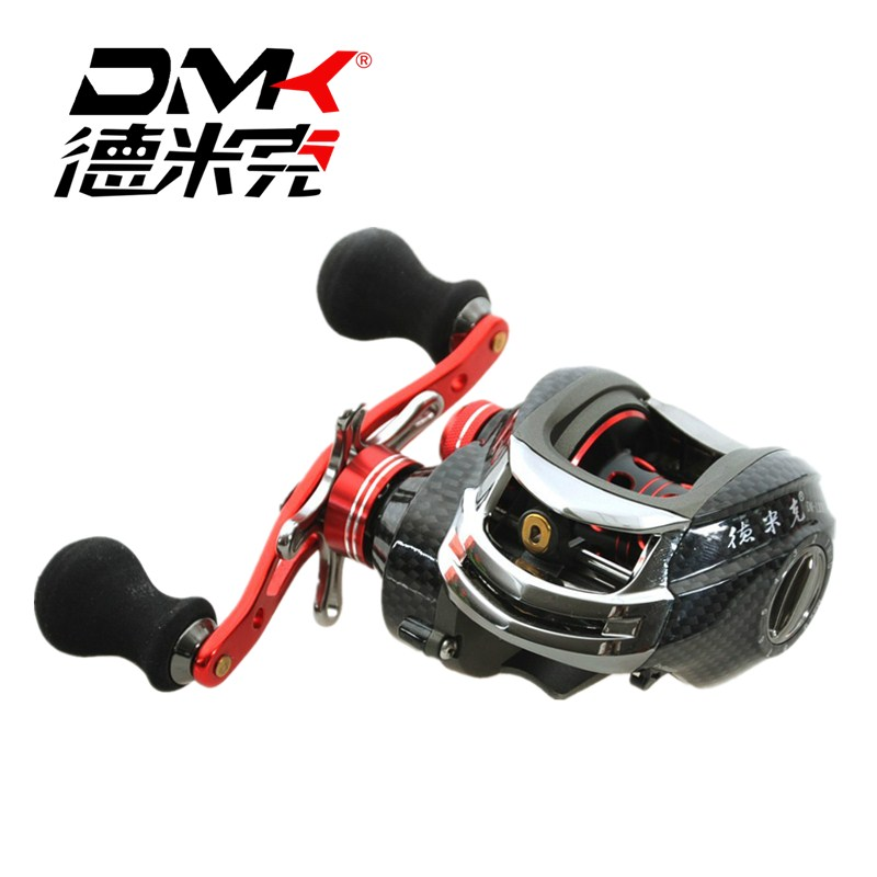 DMK Baitcasting Fishing Reel 6.3:1 11+1BB Left/Right Hand Carp Fishing Water Drop Wheel Drag 6kg High Speed Fishing Reel Pesca image