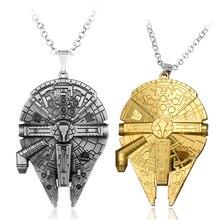 Star Wars Destroyer Ship Model Metal Necklace Pendant