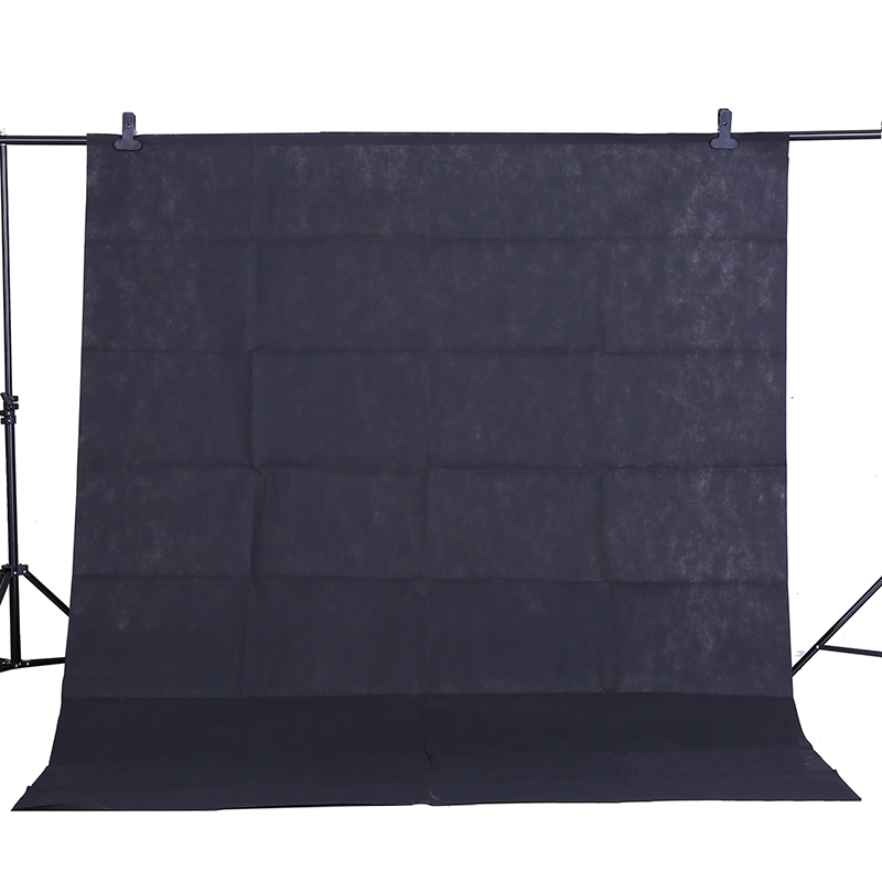CY Hot sale Photo background cloth 1.6*3M/5*10FT Black Photography Studio Non-woven Backdrop Background Screen shooting portrait supon 6 color options screen chroma key 3 x 5m background backdrop cloth for studio photo lighting non woven fabrics backdrop