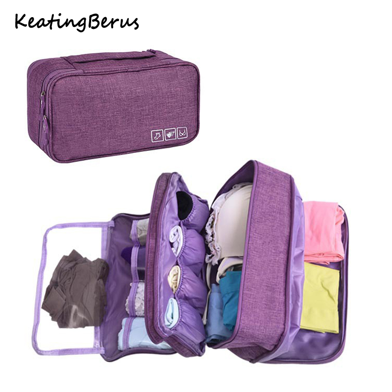 Bra Underware Drawer Organizers Dividers Box Bag Travel Storage Socks Briefs Cloth Case Clothing Wardrobe Accessories Supplies