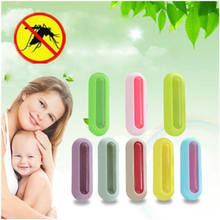 2018 Hot Anti Mosquito Repellent Badge Button Baby Pregnant Woman Mosquito Repellent Clip Safe for Infants Baby Kids Children(China)