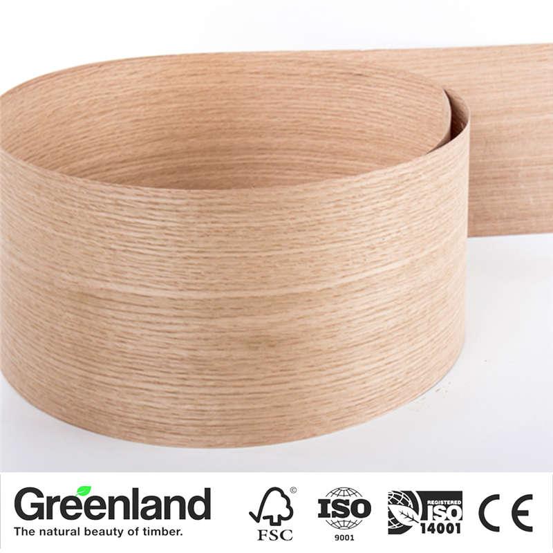 White OAK (Q.C) Wood Veneers Bedroom Chair Table Skin Size 250x20 Cm Table Veneer Flooring DIY Furniture Natural Material