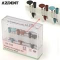 9 pçs/set Polidor de Diamante Burs Dental Lab Silicone Copos Assorted Kits de Higiene Oral escova de Dentes Polimento Ferramentas De Equipamentos Odontológicos