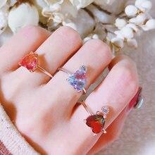 Женские кольца с кристаллами 2019 аксессуары для геометрических