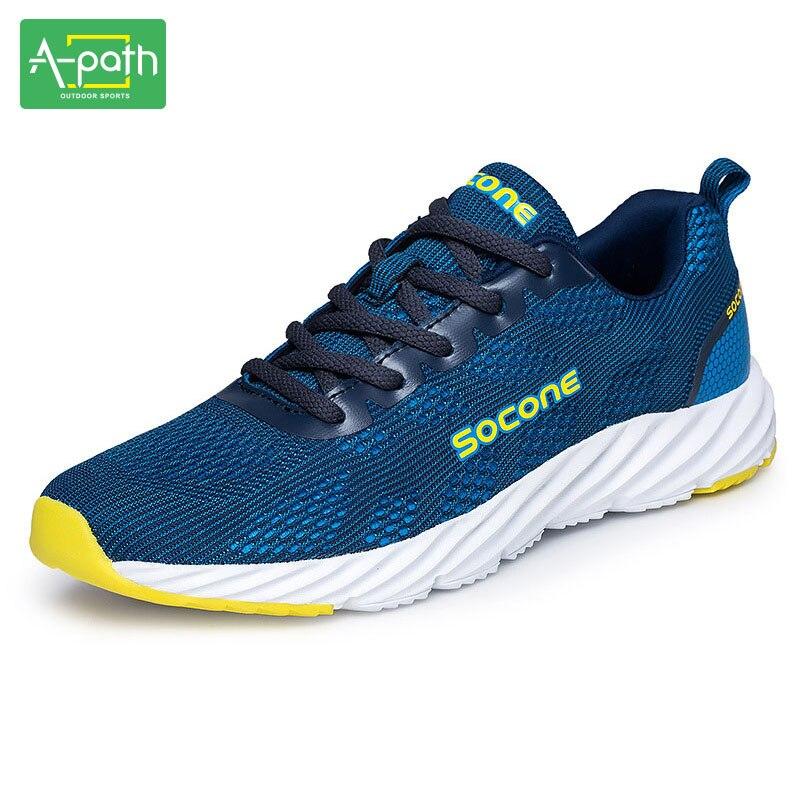 Lente en zomer buitensporten liefhebbers lichte zachte elastische ademende sneakers loopschoenen voor mannen en vrouwen sapato masculino