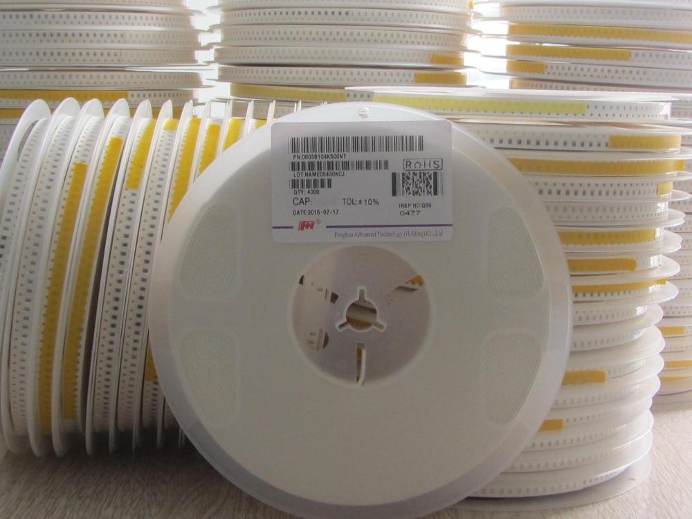 200pcs lot high Quality Ceramic capacitor 680PF 1206 680PF 680P 681K 50V 1206 smd capacitor