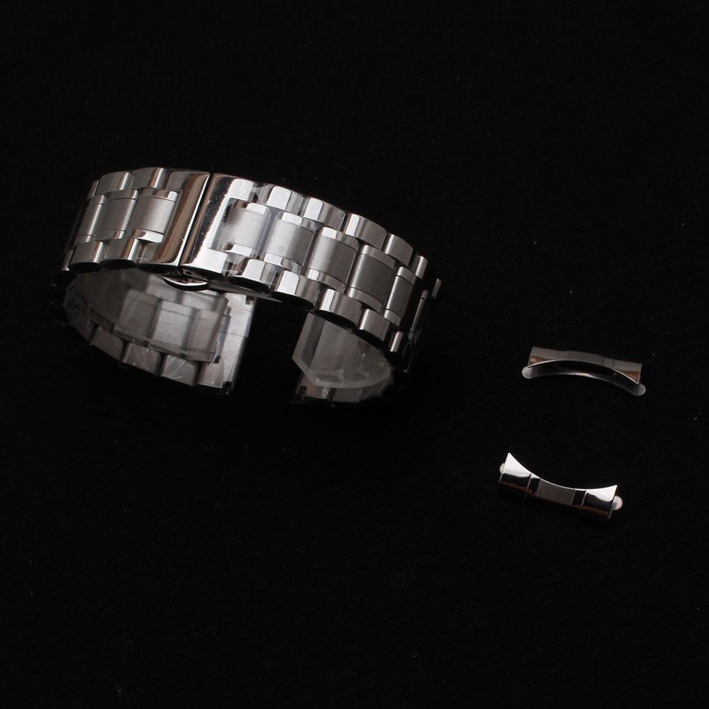Kordonlu saat erkek bilekliği kayışları bilezikler 14mm 15mm 16mm - Saat Aksesuarları - Fotoğraf 2