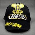 Онлайн Игры Лиги Новые Легенды LOL Косплей Cap очарование костюм бейсболка Взрослых Пустой Snapback Cap Новинка Открытый Летом шляпа