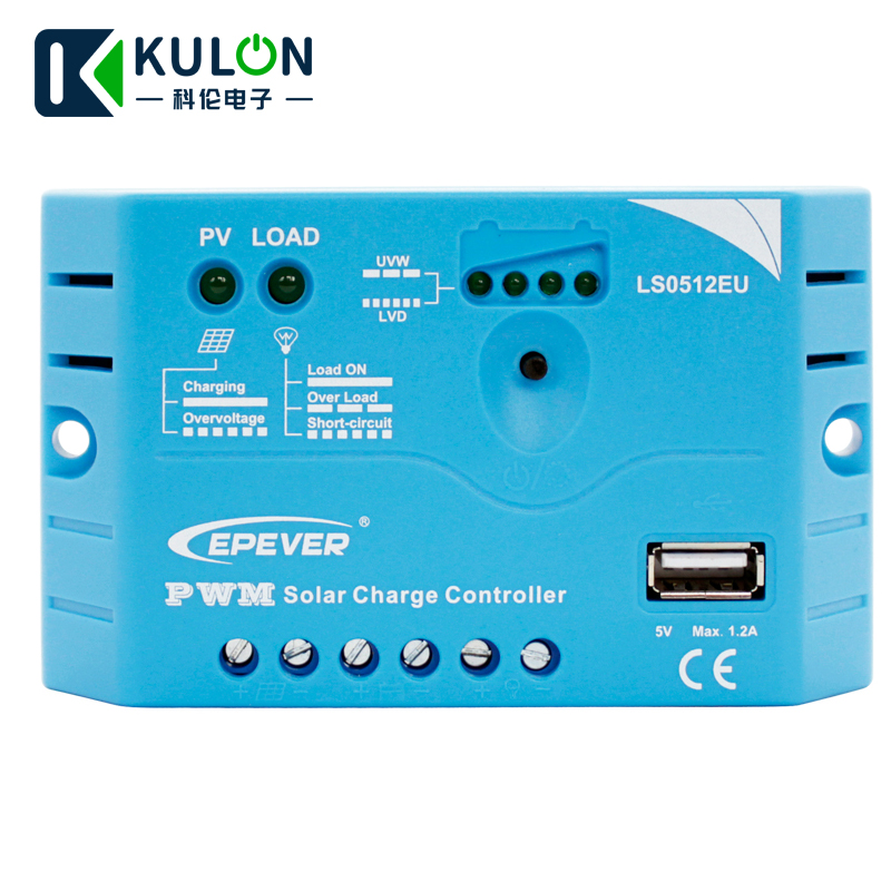 EPEVER LS0512EU LS1012EU LS1024EU LS2024EU LS3024EU PWM LandStar Solar Charge Controller Regulators with USB terminal outoutEPEVER LS0512EU LS1012EU LS1024EU LS2024EU LS3024EU PWM LandStar Solar Charge Controller Regulators with USB terminal outout