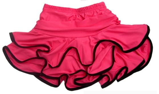 Dance Latin Dance Clothing Flounced Skirt Double Leggings Crony Adult Latin Skirt