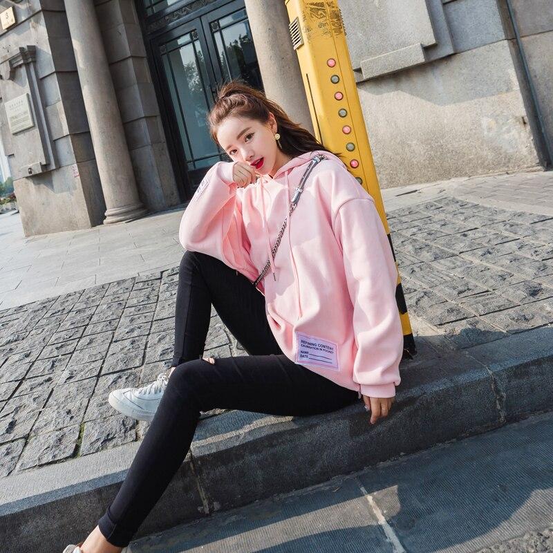 Hoodie Streets New Hip Wool Winters Autumn Of In The Gray hopfemale Jacket Fleece 2018 Fund gqRwSOvg