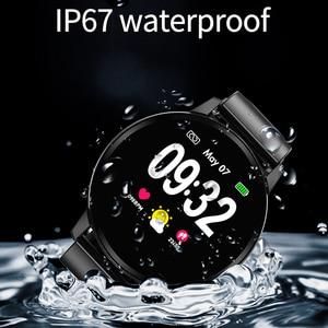 Image 3 - Smart Armband LUIK IP67 Fitness Waterdicht Horloge Bluetooth Verbinding Android Ios Bloeddrukmeter Stappenteller Polsband