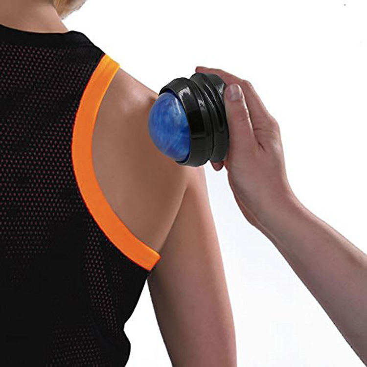 2cm PP Manual Resin Massage Ball Self rolling Massage Fitness Massage Roller Ball in Yoga Balls from Sports Entertainment