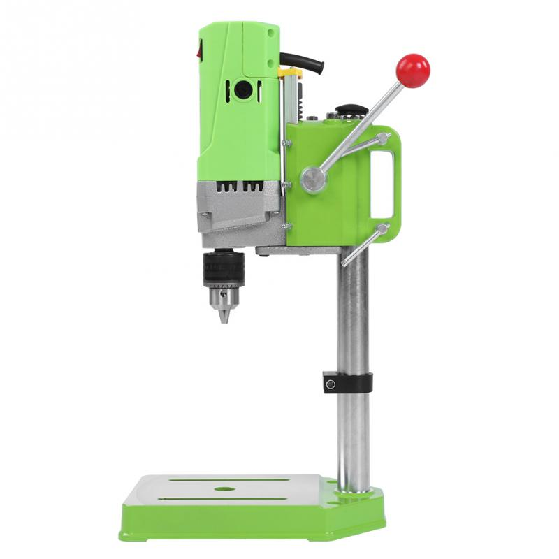 220V 710W Mini Drill Press Table Bench Drill Press Table Workbench Compact Drill High Accurately Wood