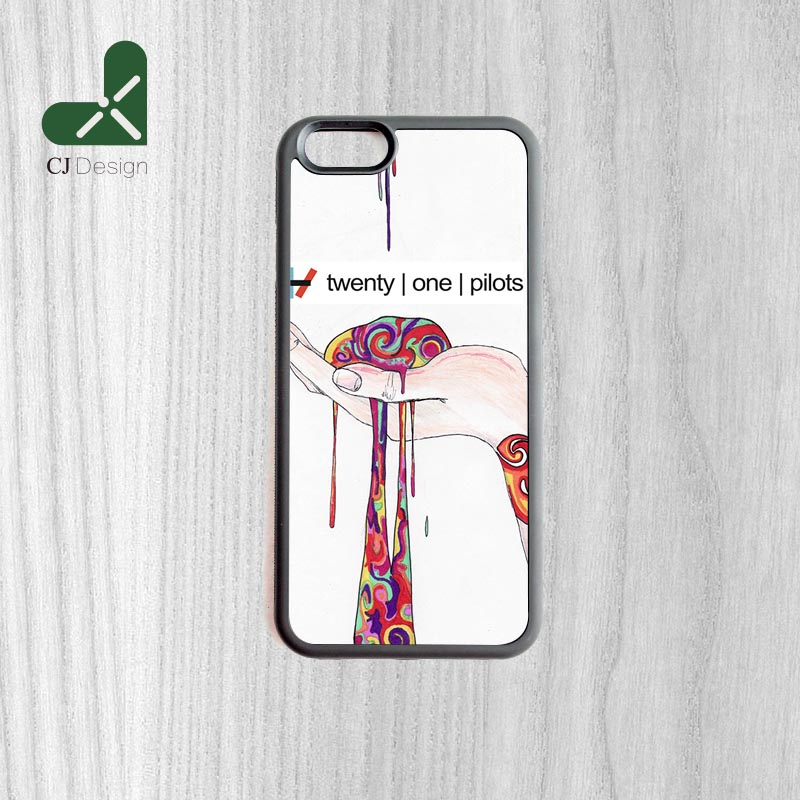 Fashion Style Twenty One Pilots Printing Cell Phone Case Cover for iphone 6 6s And 6 6s Plus Soft Shell