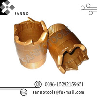 Custom made size and blades core drill bit various PDC drills polycrystalline diamond compact for cutting concrete,marble, stone