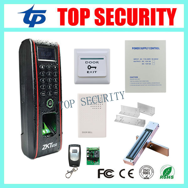 ZK IP65 waterproof TF1700 fingerprint access control with RFID card reader TCP/IP biometric fingerprint door access control biometric fingerprint door access control system with rfid card reader tcp ip usb color screen fingerprint access controller