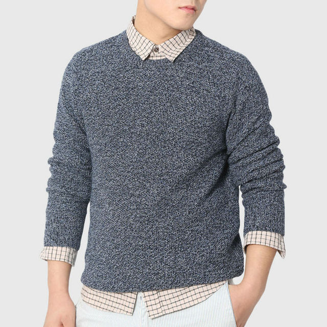 Men Urban Cable Knit Sweaters Designer Knitted Sweater Twist Warm