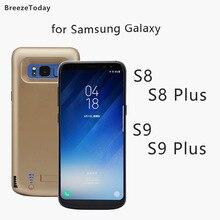 5000 6500mAh Battery Case Power For Samsung S8 Plus S9 Charging Bank чехол аккумулятор