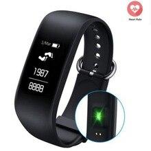 NOVA Z08 Remoto Inteligente Pulseira Bluetooth Monitor de Freqüência Cardíaca Esportes Fitness rastreador SOS Smartand Para iOS Android PK S2 mi banda 2