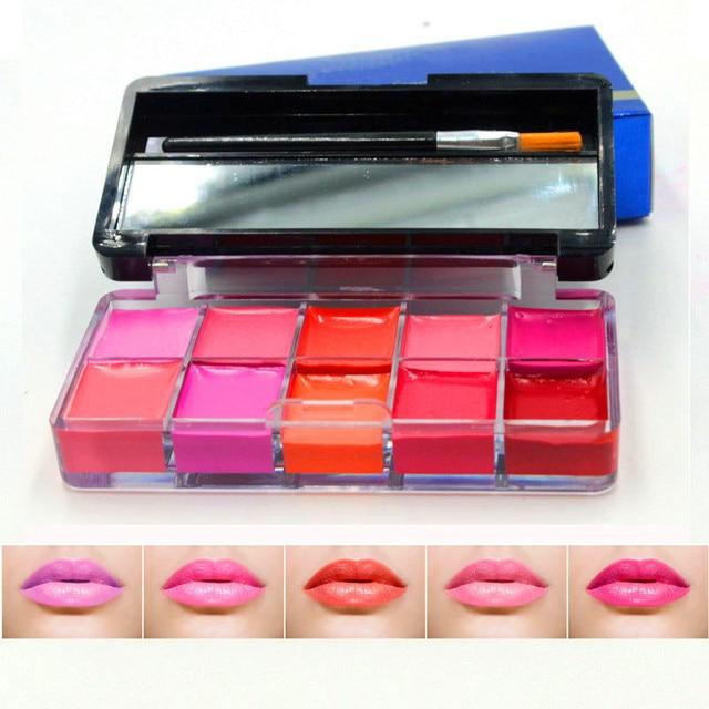 Nueva llegada Sets de maquillaje hidratante color DIY congelado 10 ...