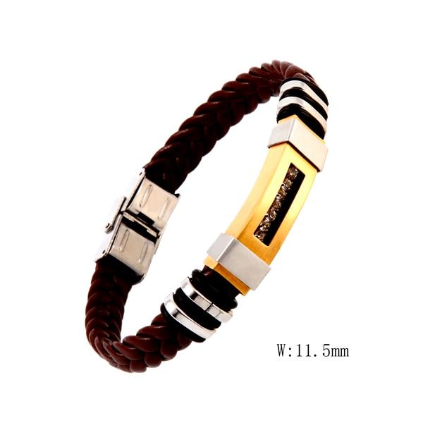 CSO 018 Charm Couple Bracelet Black White Natural Stones Beads Beaded Bracelets Bangles For Men Women