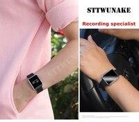 STTWUNAKE original versteckt diktiergerät uhr zeitstempel 30 stunden Audio Recorder Diktiergerät Professionelle Digitale HD