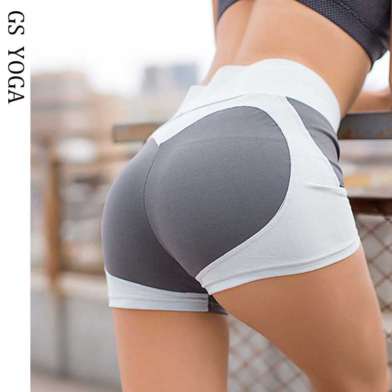Shorts Waist Sexy High Running Short Sports Women Yoga Hot ortsxhdBQC