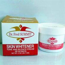 Marca famosa original dr. fred cimeira creme de descoramento da pele para pele escura clareamento da pele creme de branqueamento atacado
