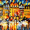 A Lot Of Boat Float On The River DIY Painting By Numbers Kits Coloring Painting On