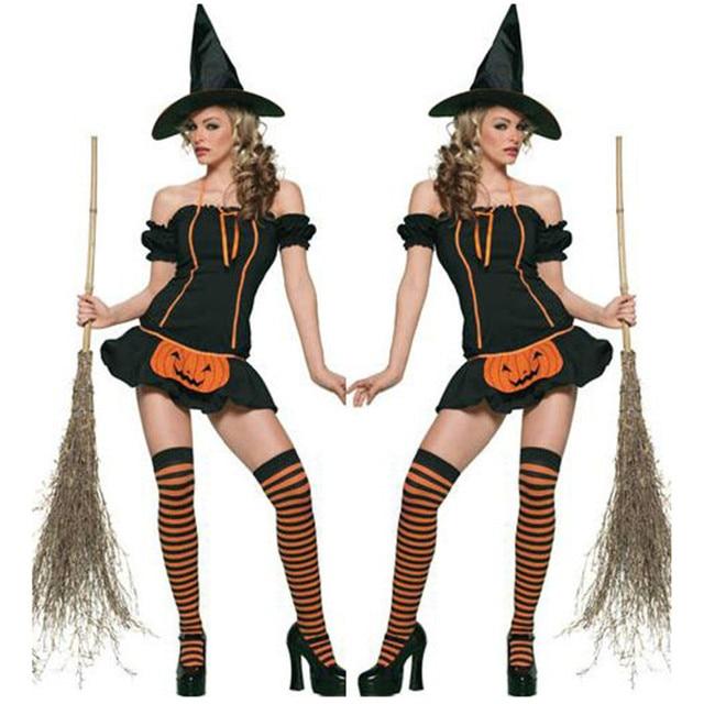 Aliexpress.com : Buy 2017 New High Quality Halloween Black Witch ...