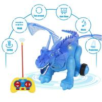 Simulated Electric Dinosaur Light Projection Realistic Dinosaur Action Toy Model Electronic Toys D40+