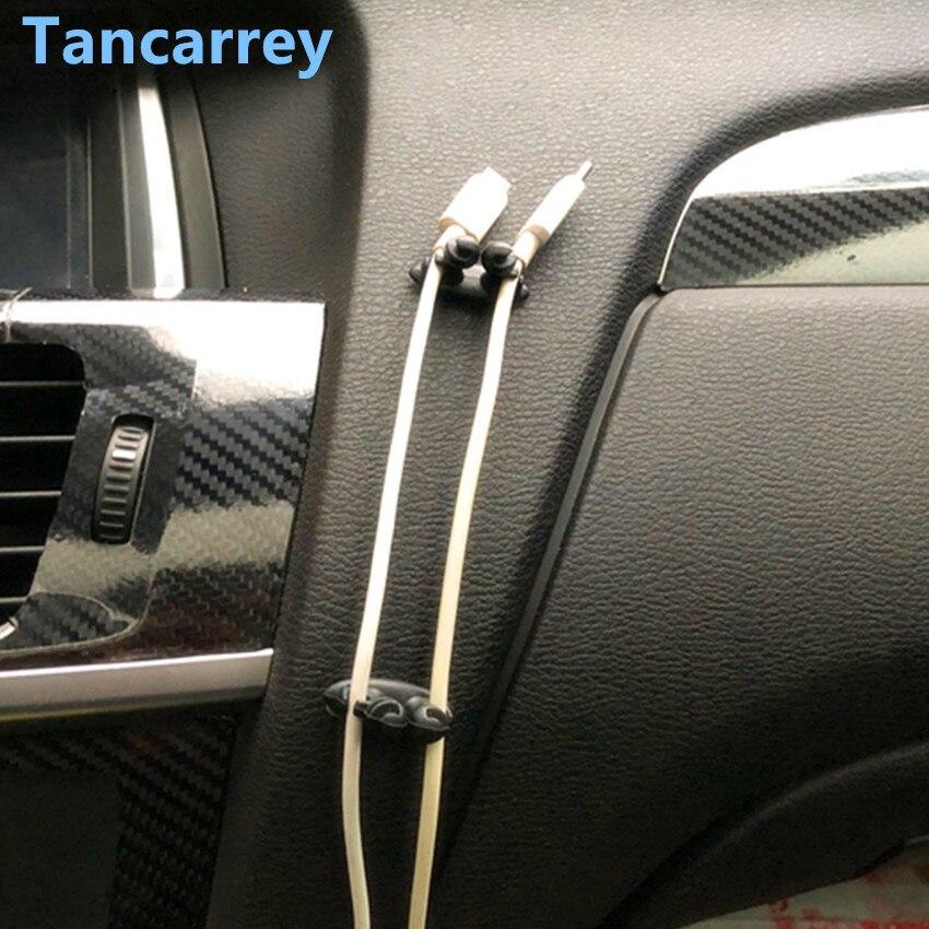 Высокое качество 8 шт. автомобильная проводка зажим для галстука фиксатор наклейка для renault megane 2 3 duster/logan/captur/2016 laguna 2 clio fluence kadjar