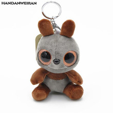 HANDANWEIRAN 1PCS New Products Scented Bear Plush Toys Cute Cartoon Bears Stuffe Small Pendant Backpack Key Chain Gift 10CM
